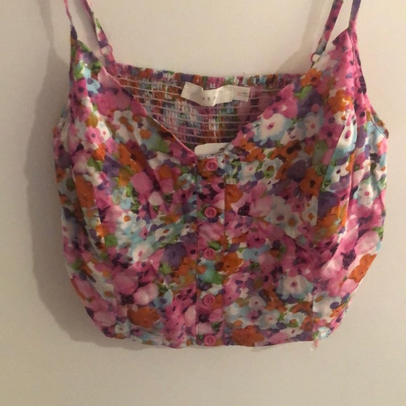 Lush Tops - Lush crop top- new, never worn, with tags